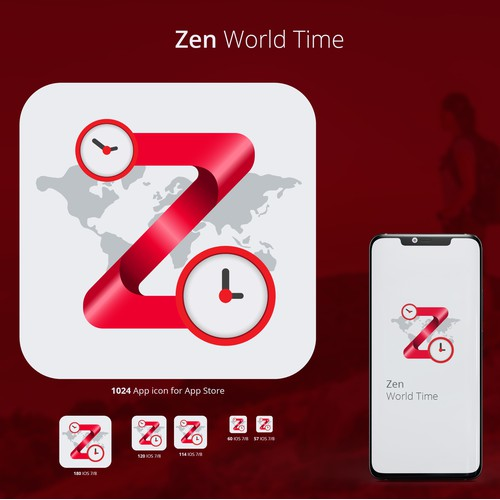 Zen World Time app Icon