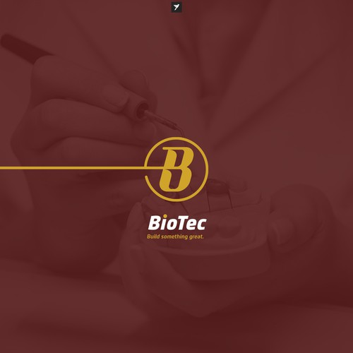 B monogram for dental laboratory