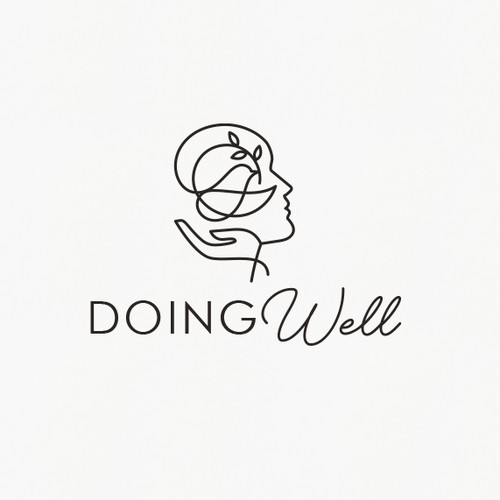 Doing Well logo