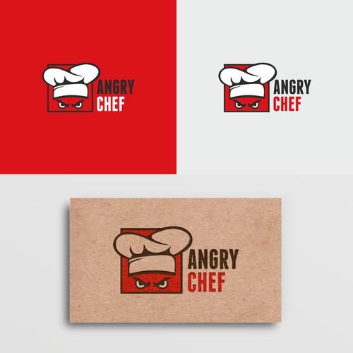 angry chef logo