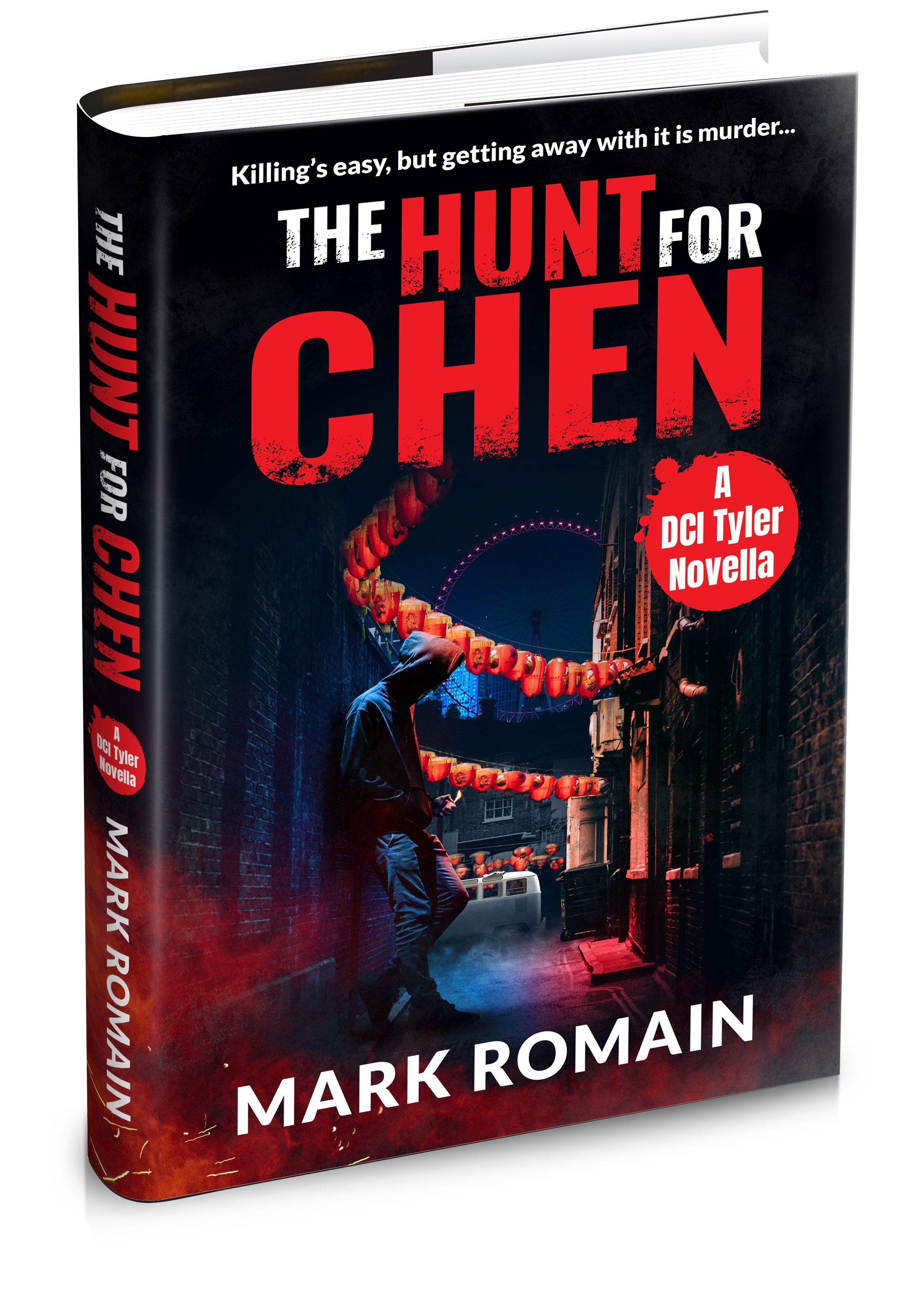 Paperback and ebook covers for London Noir crime thriller