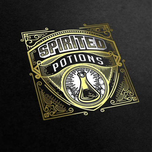 Logo for Spirited Potions