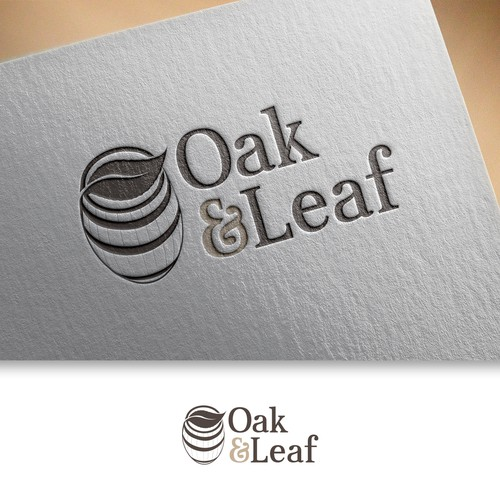 Logo for oak and leaf