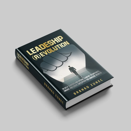 Leadership Book Cover Design