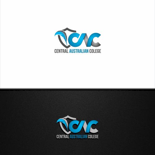 Bold logo for Central Australian colege