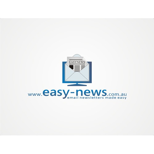 logo concept for www.easy-news.com.au