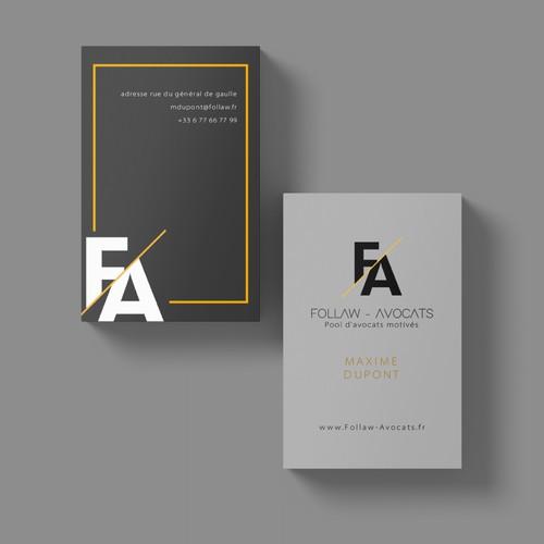 Business Card - Follaw Avocats