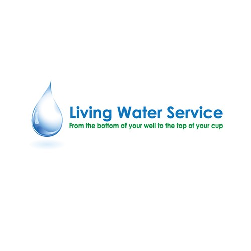 Create the next logo for Living Water Service