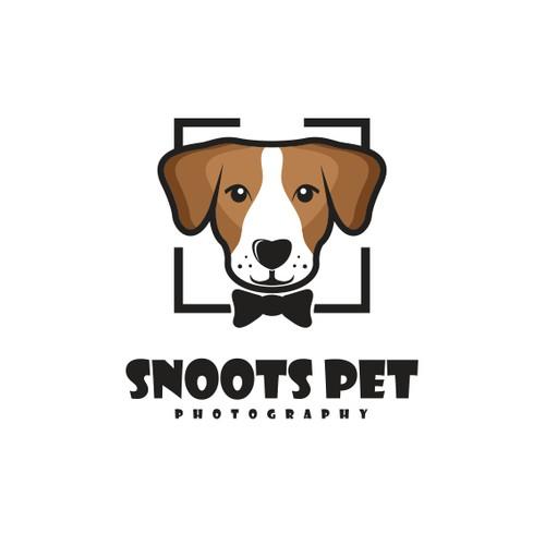 Logo for pet dog photographer