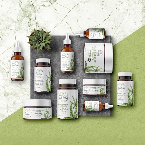 Label&Logo for Taboo Organics