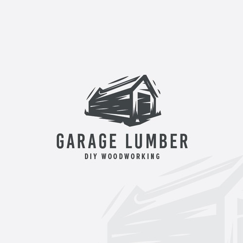 a logo and brand for a new blog focused on DIY wood furniture