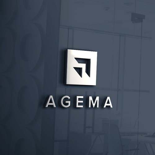 Clean logo design for