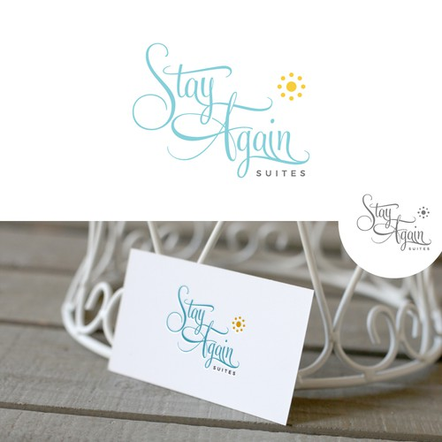 Logo for Stay Again Suites