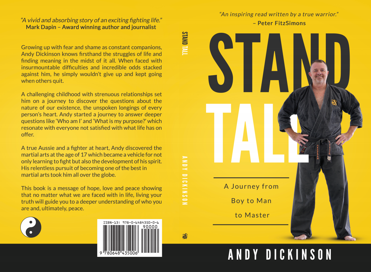Stand Tall print book cover