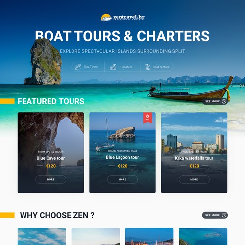 Boat tours and charter