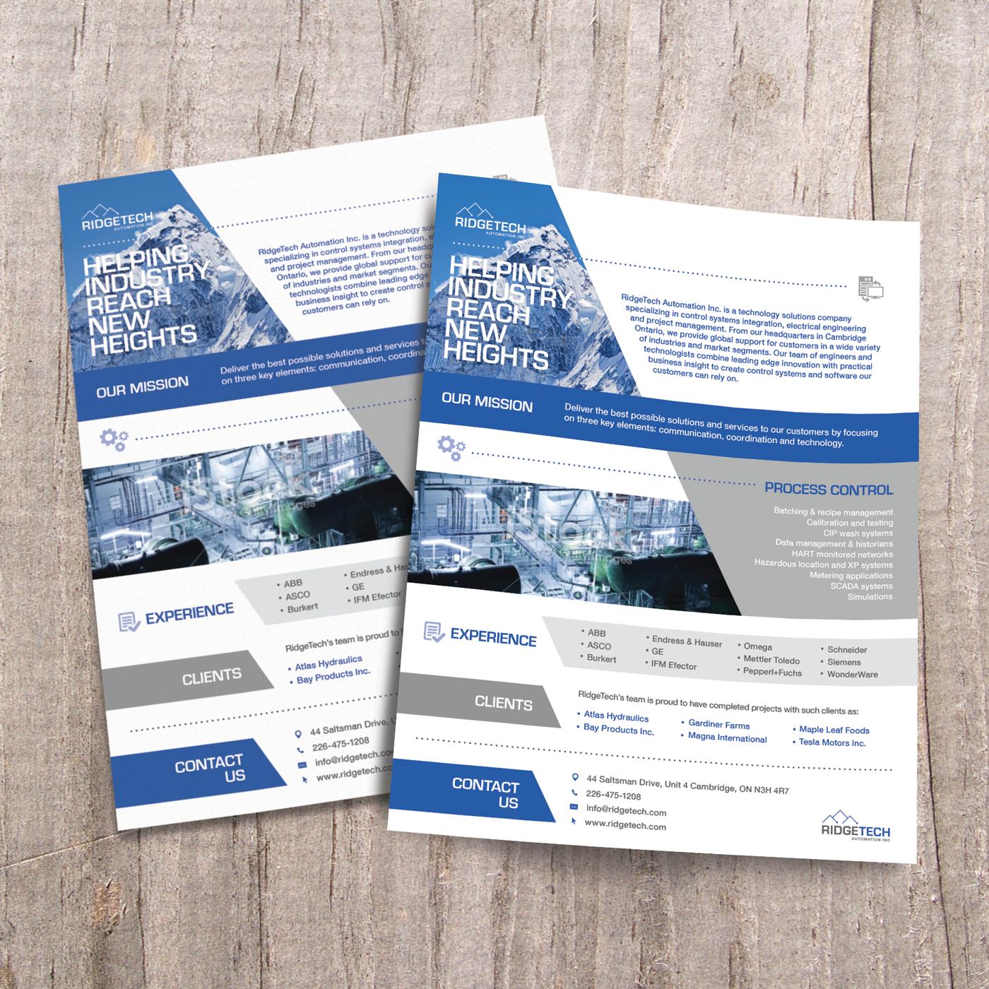 RidgeTech Automation - Marketing Documents