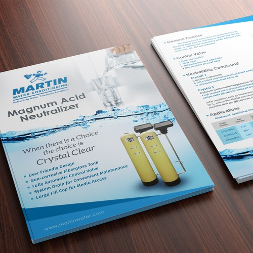 Martin Water Conditioning Brochure
