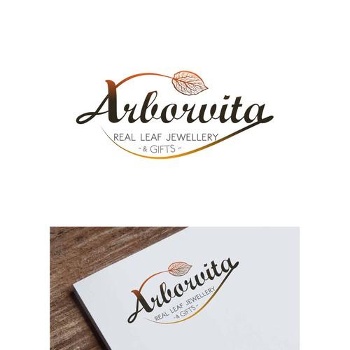 A luxury, organic, classic Logo for Arborvita