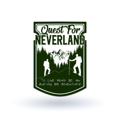Logo concept for Quest to Neverland