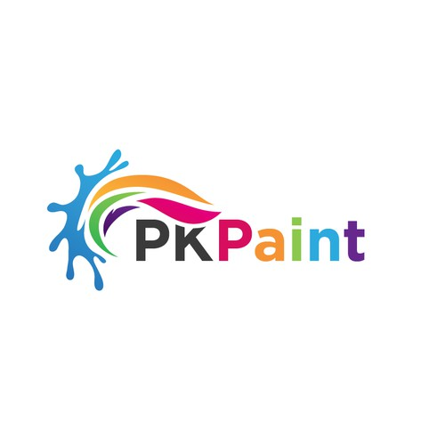 Logo concept for a painting company
