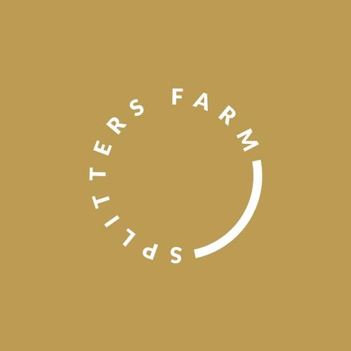 Simplified Geometrical Logo for an Organic Farm