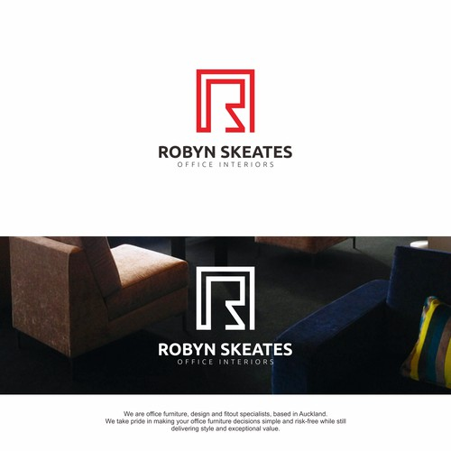 Robyn Skeates Logo for Office Interior