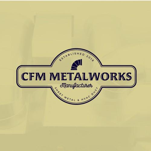 Badge logo for CFM Metalworks