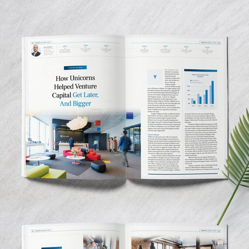 Design Concept for a Magazine