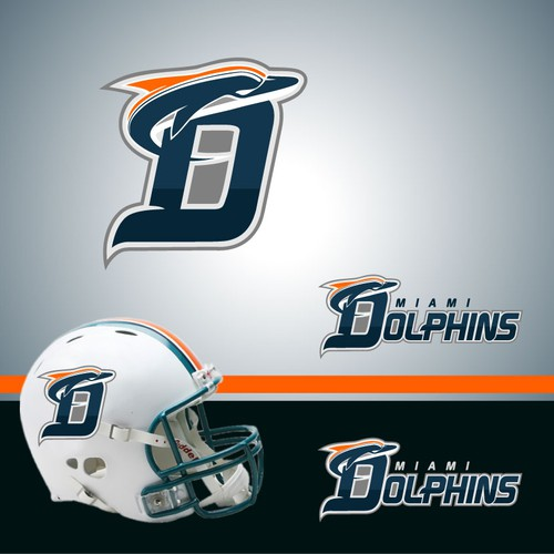 Miami Dolphins NFL team re-design its logo!