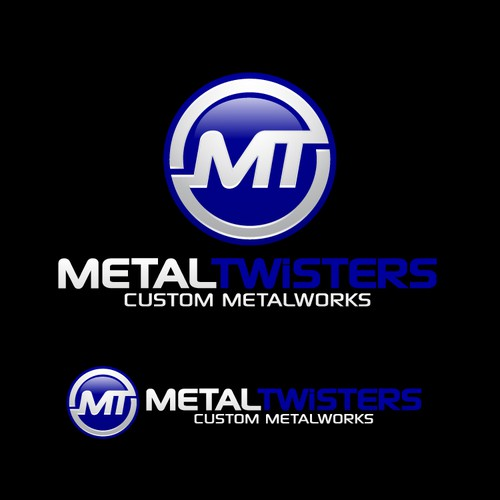 Help metal twisters with a new logo