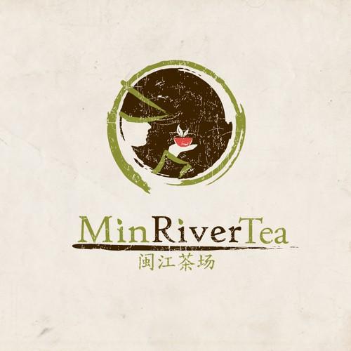Min River Tea - Logo