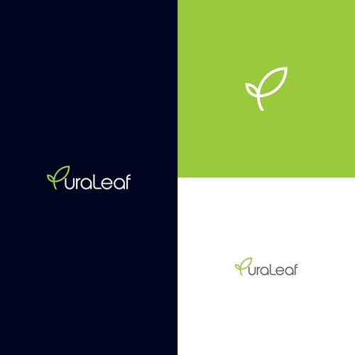 PuraLeaf CBD Logo Design Contest