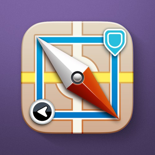 iOS app icon for a Transit app