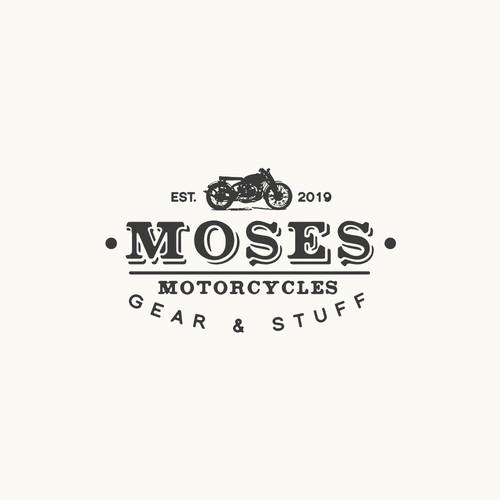 motorcycle logo concept