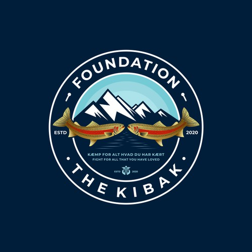 Logo concept for The Kibak Foundation