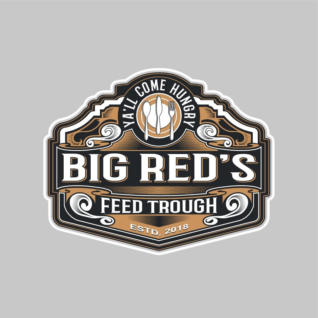 Design a rustic vintage logo for food trailer