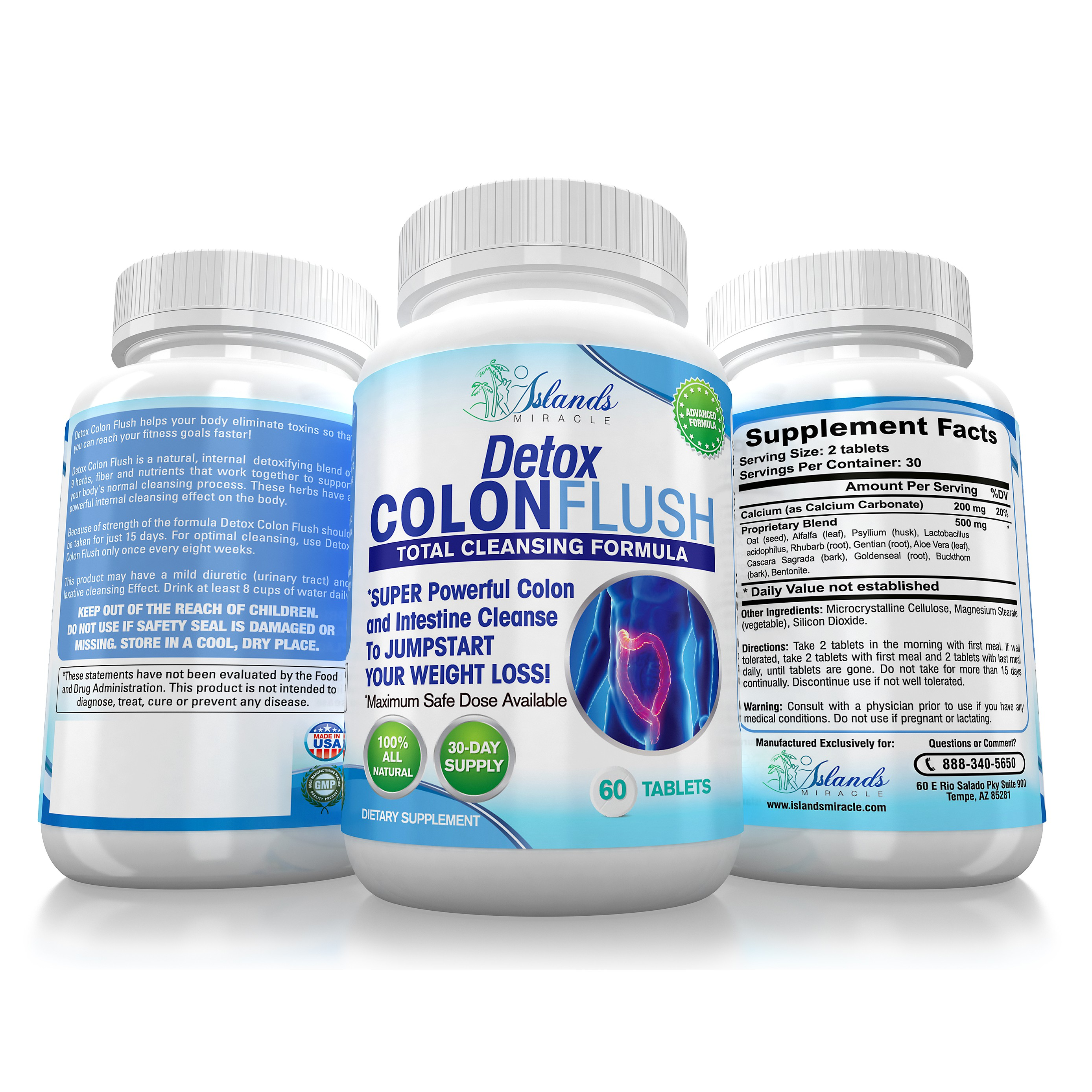 Edit of Colon Cleanse label and 3D that you did for us.
