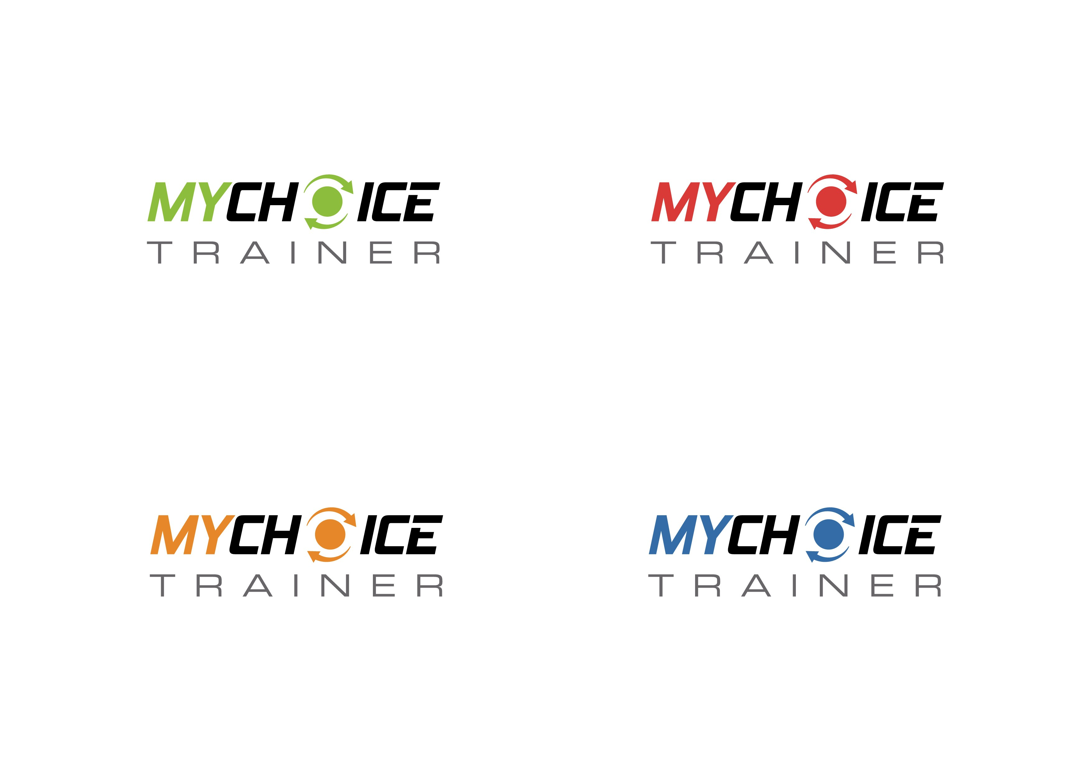 Create an engaging, yet simple and modern, fitness look for MyChoiceTrainer.