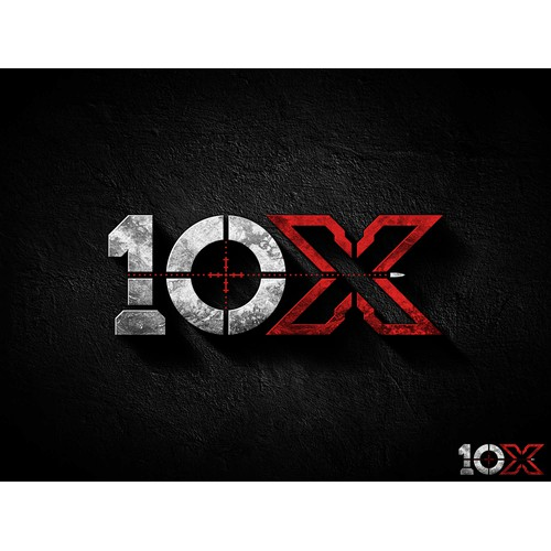 Logo design for 10X