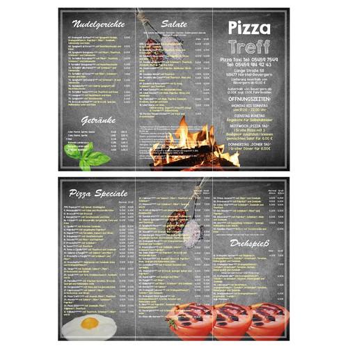 Pizza Treff Menu