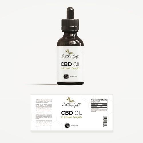 CBD Oil Dropper Packaging