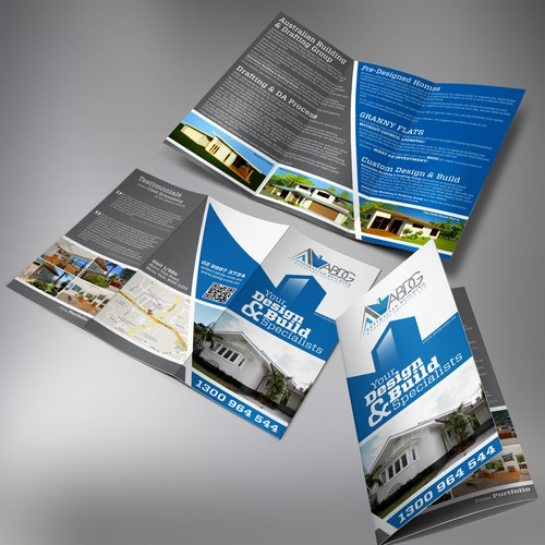 New brochure design wanted for Australian Building & Drafting Group Pty Ltd