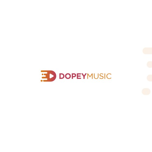Clean logo for DOPEY MUSIC