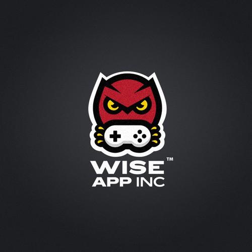 WiseApp Inc. logo concept