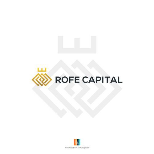 ROFE Capital logo design
