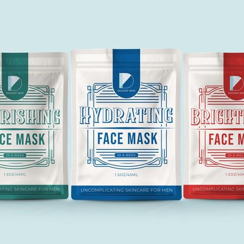 Mens Skincare Packaging Design