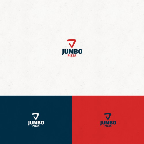Concept Logo for Jumbo Pizza