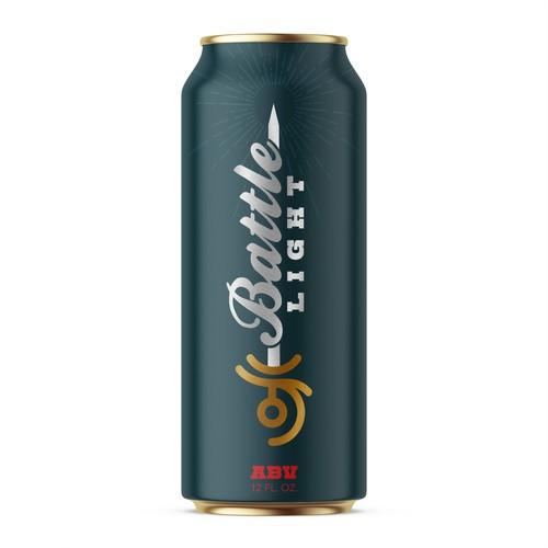 Beer branding - Battle Light