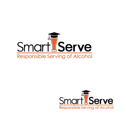 Cool design - alcohol themed logo... think outside the box!