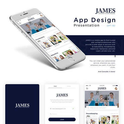 James App Design